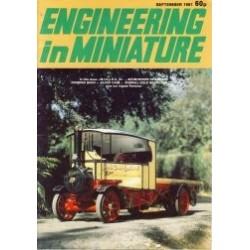 Engineering in Miniature 1981 September