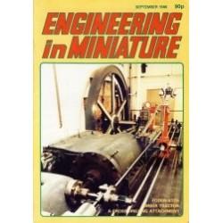 Engineering in Miniature 1986 September