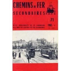 Chemins de Fer Secondaires 1965 May