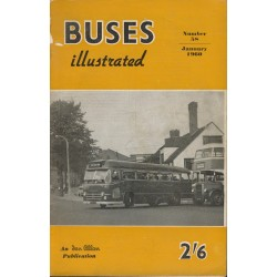 Buses Illustrated 1960 January