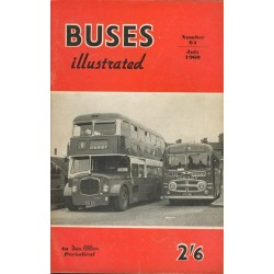 Buses Illustrated 1960 July
