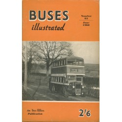 Buses Illustrated 1960 June