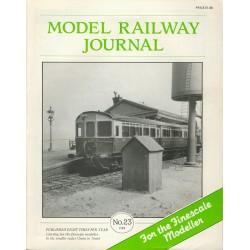 Model Railway Journal 1988 No.23