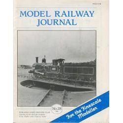 Model Railway Journal 1989 No.28