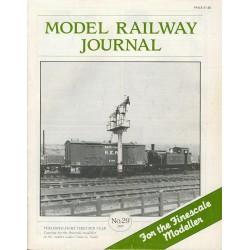 Model Railway Journal 1989 No.29