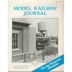 Model Railway Journal 1989 No.33