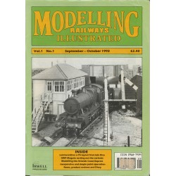 Modelling Railways Illustrated 1993 September/October V1No1