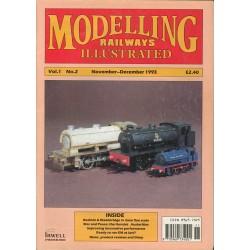 Modelling Railways Illustrated 1993 November/December V1No2