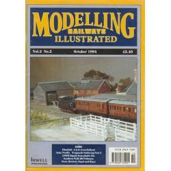 Modelling Railways Illustrated 1994 October V2No2