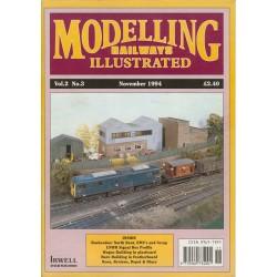 Modelling Railways Illustrated 1994 November V2No3