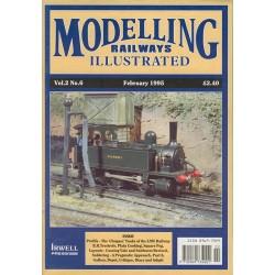 Modelling Railways Illustrated 1995 February V2No6