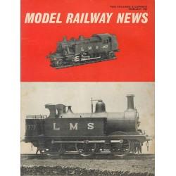 Model Railway News 1965 February