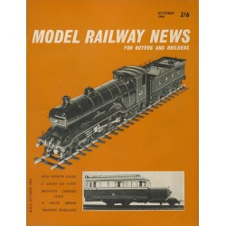 Model Railway News 1964 October