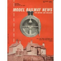 Model Railway News 1964 September
