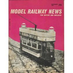 Model Railway News 1964 November