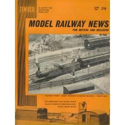 Model Railway News 1964 June