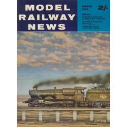 Model Railway News 1963 March