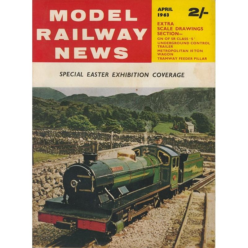 Model Railway News 1963 April