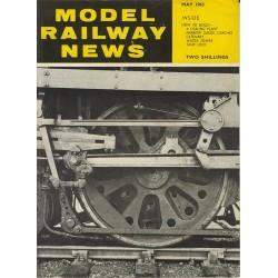 Model Railway News 1963 May