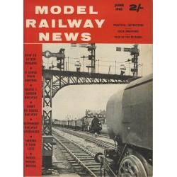 Model Railway News 1963 June