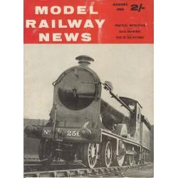 Model Railway News 1963 August