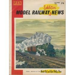 Model Railway News 1963 October