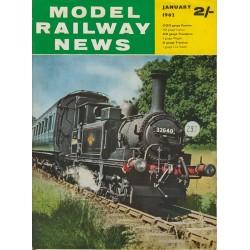 Model Railway News 1962 January