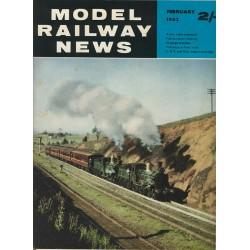Model Railway News 1962 February