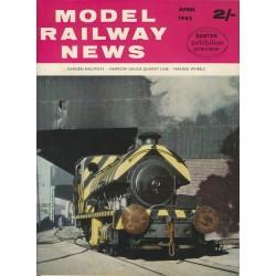Model Railway News 1962 April