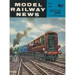 Model Railway News 1962 July
