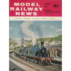 Model Railway News 1962 August