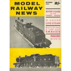 Model Railway News 1962 October