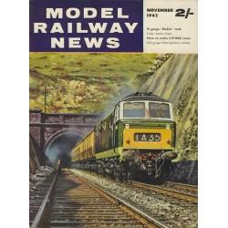 Model Railway News 1962 November