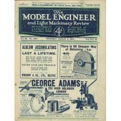 Model Engineer 1925 August 6