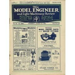 Model Engineer 1925 August 13