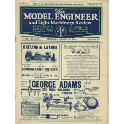 Model Engineer 1925 August 20