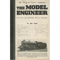 Model Engineer 1943 February 18