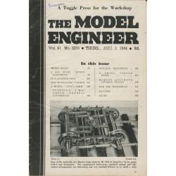 Model Engineer 1944 August 3