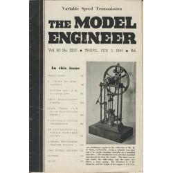 Model Engineer 1944 February 3