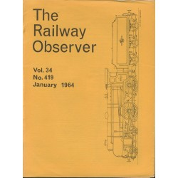 Railway Observer volume 1964