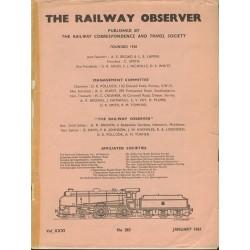 Railway Observer volume 1961