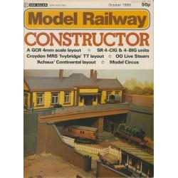 Model Railway Constructor 1980 October