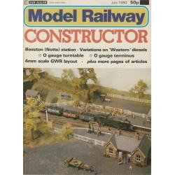 Model Railway Constructor 1980 July