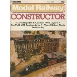 Model Railway Constructor 1980 June