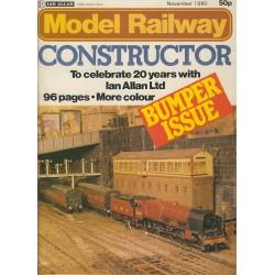 Model Railway Constructor 1980 November