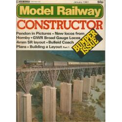 Model Railway Constructor 1981 January