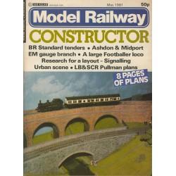 Model Railway Constructor 1981 May