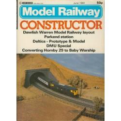 Model Railway Constructor 1981 June