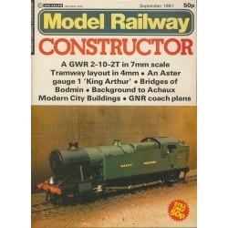 Model Railway Constructor 1981 September