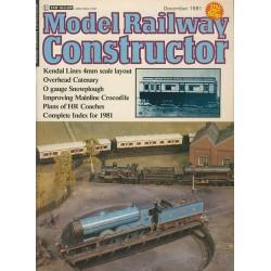 Model Railway Constructor 1981 December